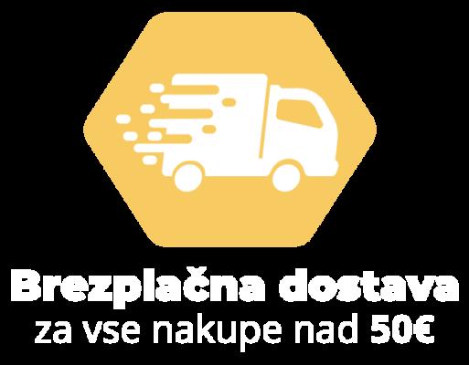 brezplacna dostava nad 50eur